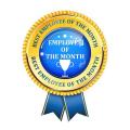 Награждаване на най-добрите служители за месец декември