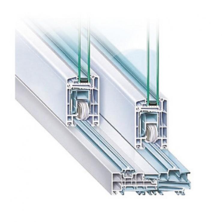 Trocal 76 PVC Плъзгаща Система